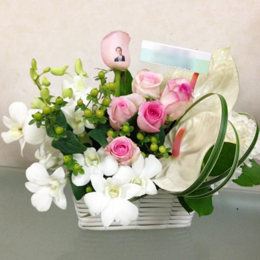 喜寿祝い 花 オデット