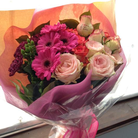 傘寿祝い 花束 アルディ