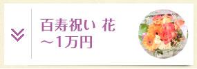 百寿・紀寿祝い 花 ~1万円