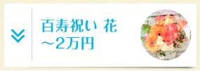 百寿・紀寿祝い 花 ~2万円