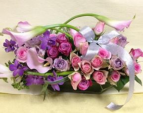 喜寿祝い 花 フラワーアレンジメント ワルツ