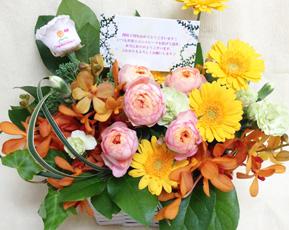 米寿祝い 花 フロリダビタミン