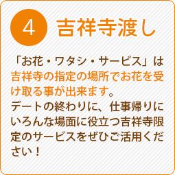 吉祥寺の花屋Fのオリジナルサービス